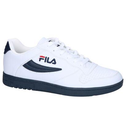Fila FX100 Low Witte Sneakers in kunstleer (240884)