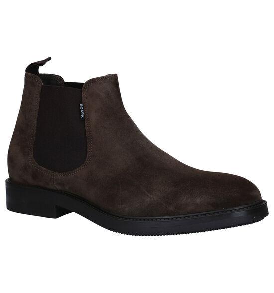 Scapa Kaki Chelsea Boots
