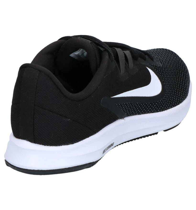Nike Downshifter 9 Baskets en Beige en textile (253935)