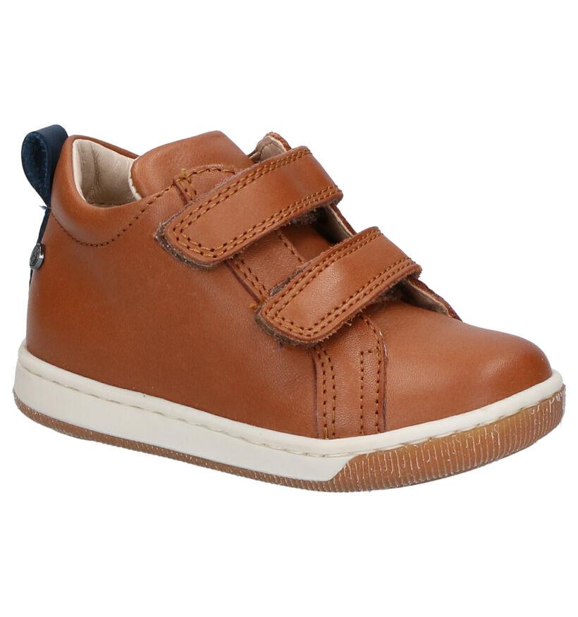 Falcotto Haley Chaussures Hautes en Cognac en cuir (275676)