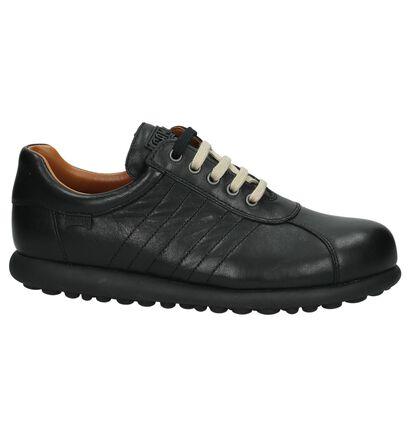 Camper Chaussures basses en Noir en cuir (168851)