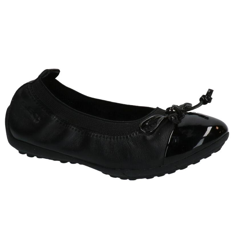 Geox Ballerines en Noir en cuir (279657)