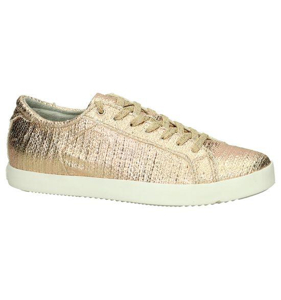 Tamaris Rose Gold Geklede Sneakers