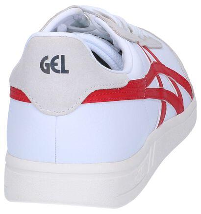 Witte Sneakers Asics Gel-Vickka TRS in leer (238184)