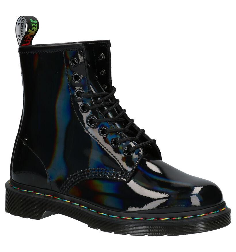 Dr. Martens 1460 Zwarte Boots in lakleer (253104)