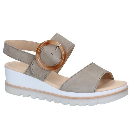Gabor Best Fitting Sandales en Taupe