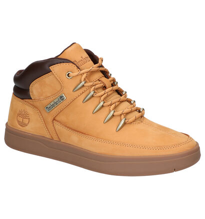Timberland Davis Square Bottines en Naturel en nubuck (255241)