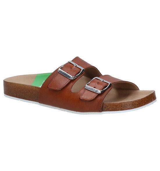 Slowwalk Biorvi Cognac Slippers