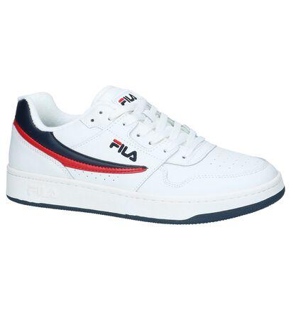 Fila Arcade Low Witte Lage Sneakers in kunstleer (240883)