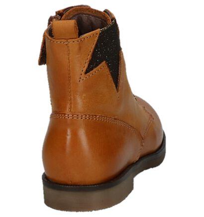 Zwarte Geklede Boots STONES and BONES Cuma in leer (223378)