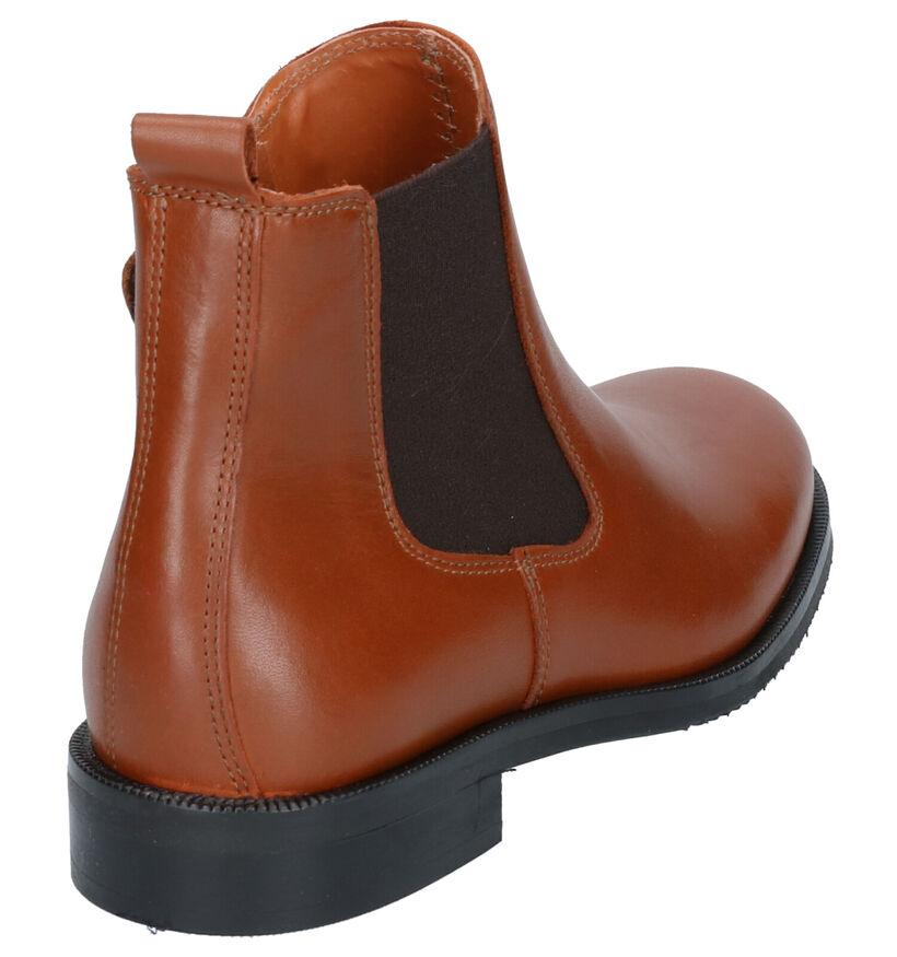 Hampton Bays Chaussures hautes en Cognac en cuir (260993)