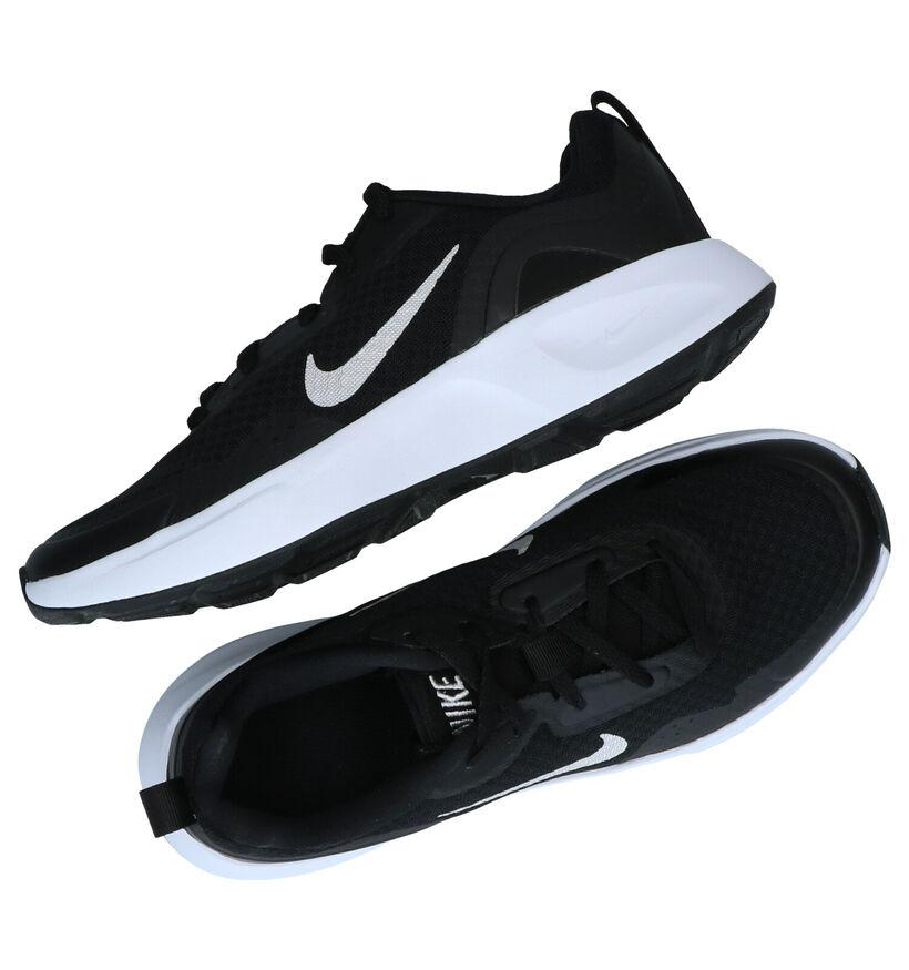 Nike Wearallday Baskets en Noir en textile (284484)