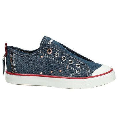 Geox Chaussures sans lacets  (Blanc), Bleu, pdp