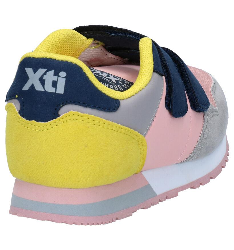 Xti Baskets basses en Rose en textile (281195)