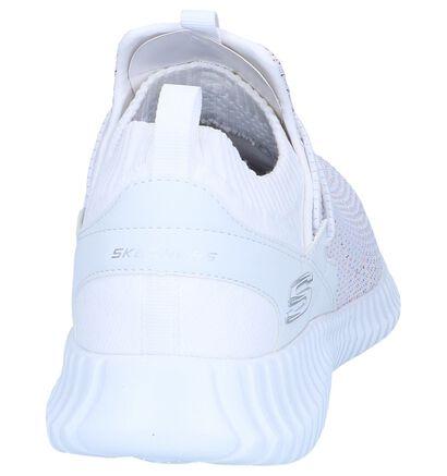 Zwarte Slip-on Sneakers Skechers , Wit, pdp