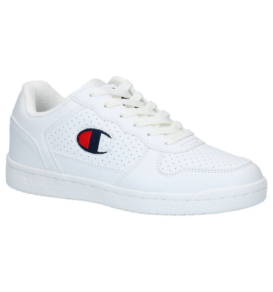 Champion Chicago Basket Low Witte Sneakers