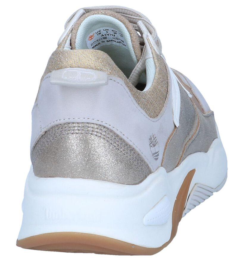 Timberland Baskets basses en Or en cuir (240509)