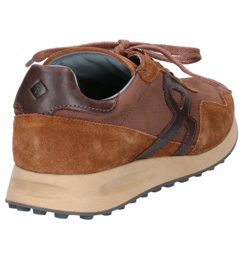Revolte Jagger Kaki Sneakers in leer (254822)