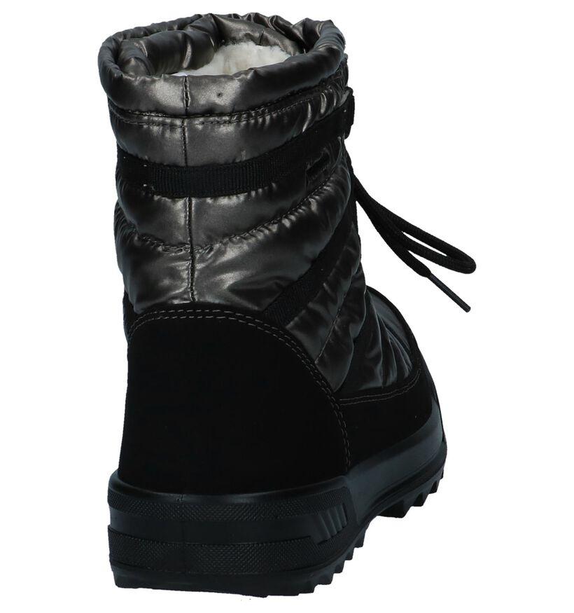 Skandia Bottes de neige en Noir en synthétique (200825)