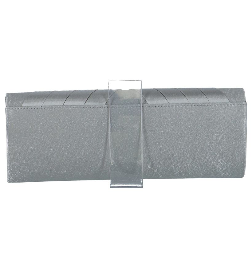 Zilveren Clutch Bulaggi in stof (238353)