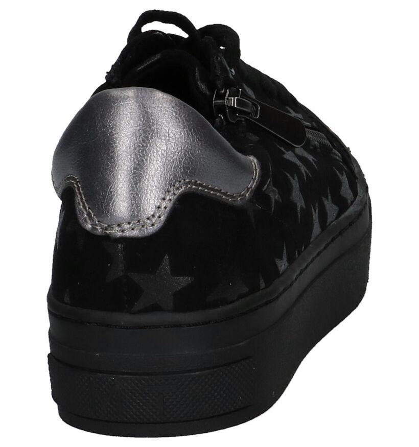 Marco Tozzi Baskets basses en Noir en textile (222084)