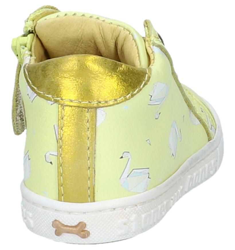 STONES and BONES Chaussures pour bébé  en Pastel en cuir (239889)