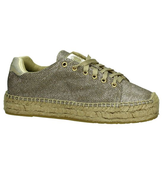 Replay Chaussures à lacets en Or