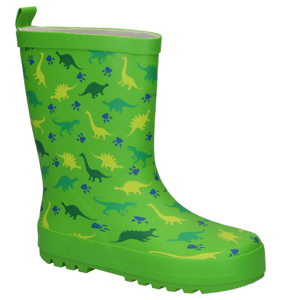 Dazzle Dino Bottes de pluie en Vert
