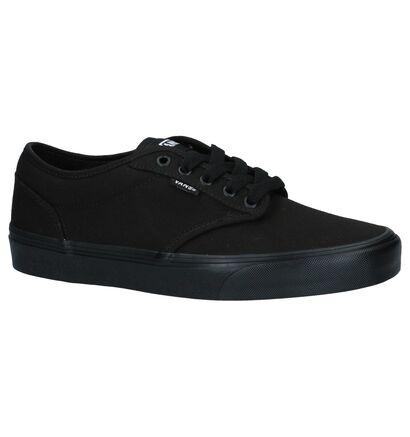Zwarte Skateschoenen Vans Atwood in stof (239756)