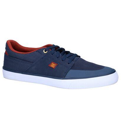 DC Shoes Skate sneakers en Bleu foncé en imitation cuir (198606)