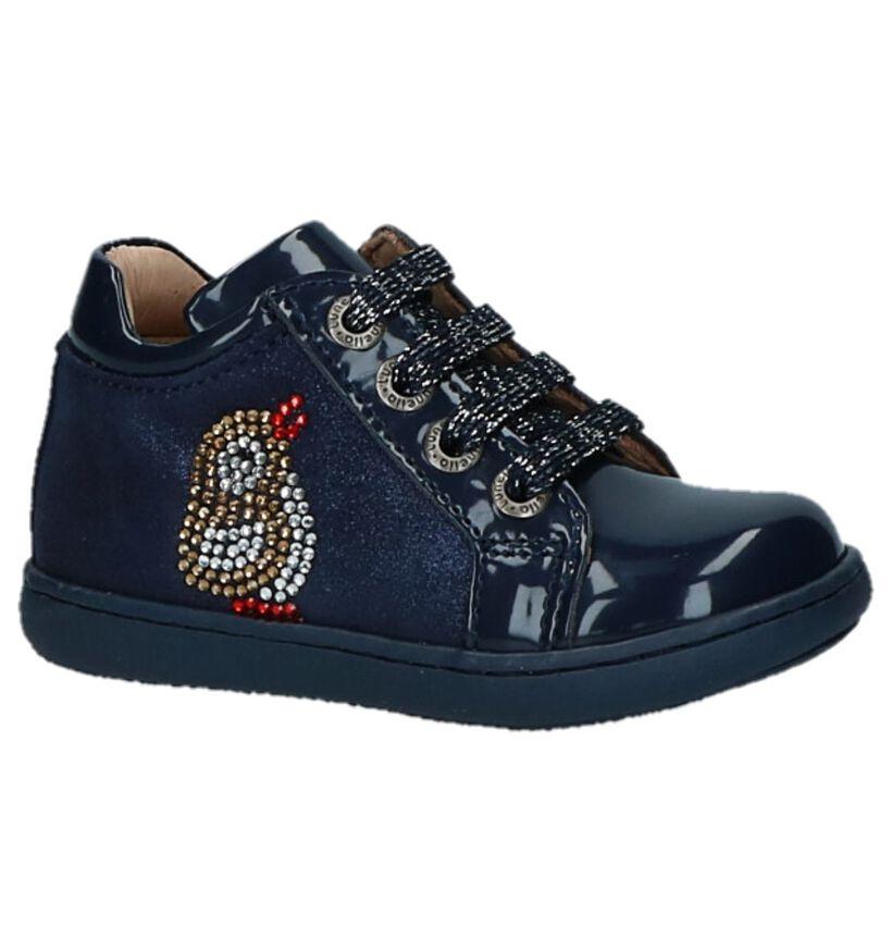 Lunella Chaussures pour bébé  en Bleu foncé en cuir verni (226897)