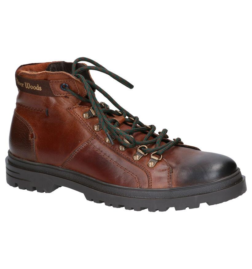 River Woods Rio Boots Cognac in leer (260318)