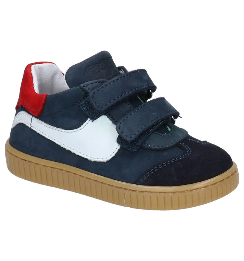 Bumba Msport Donkerblauwe Sneakers in nubuck (272498)