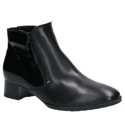 Ara High Soft Bottillons en Noir en cuir (260826)