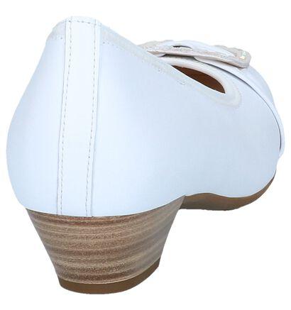 Gabor Escarpins classique en Blanc en cuir (245364)