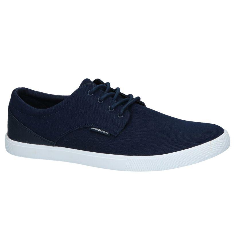 Donkerblauwe Sneakers Jack & Jones Nimbus in stof (240961)