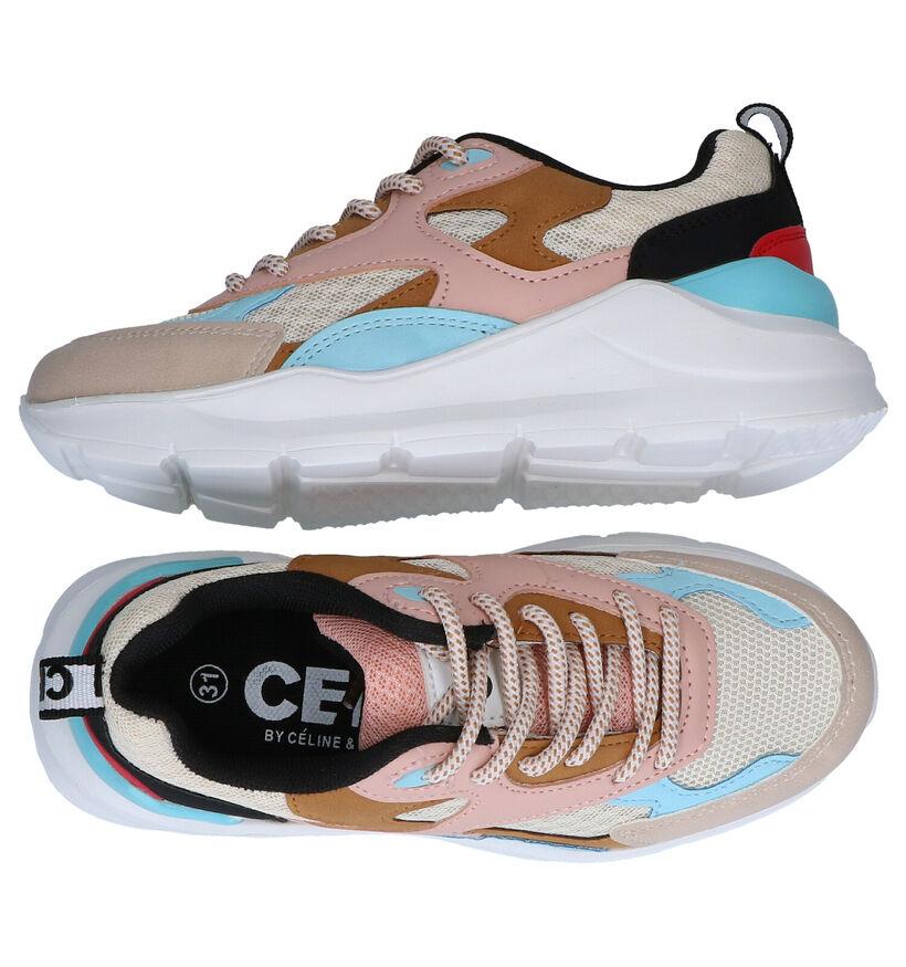 CeMi Meerkleurige Sneakers in kunstleer (290281)