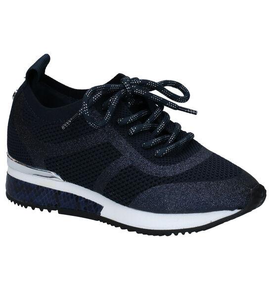 La Strada Chaussures à Lacets en Bleu