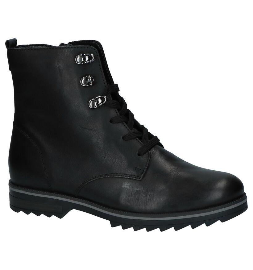 Zwarte Remonte Comfort Boots in leer (232031)