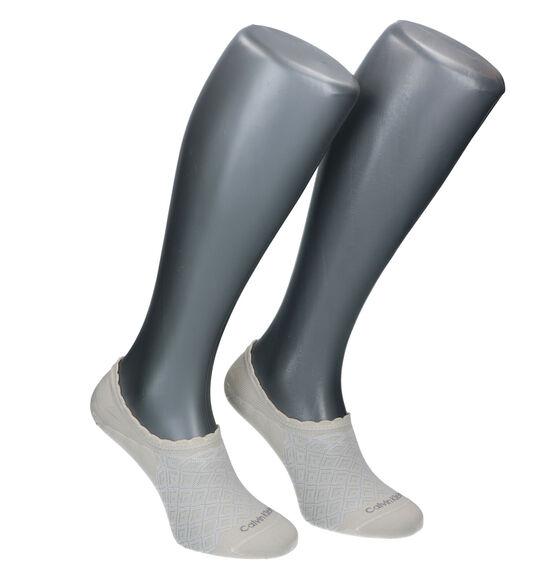Calvin Klein Socks Chaussettes basses en Beige - 2 Paires