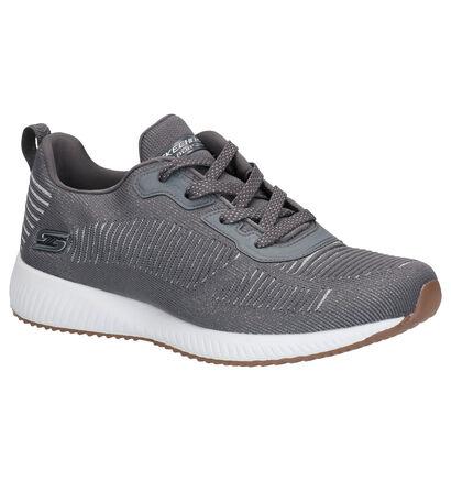 Skechers Glam League Sneakers Grijs in stof (263235)