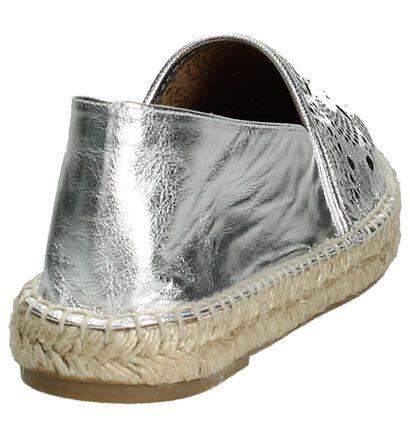 Zilveren Espadrilles Conchisa Amaia, Zilver, pdp