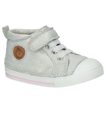 Shoo Pom Chaussures pour bébé  en Argent en cuir (215654)