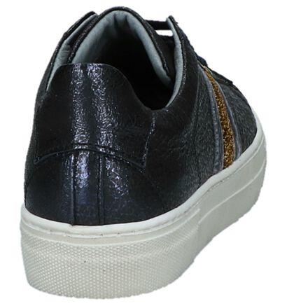 Hampton Bays Baskets basses en Blanc en cuir (232657)