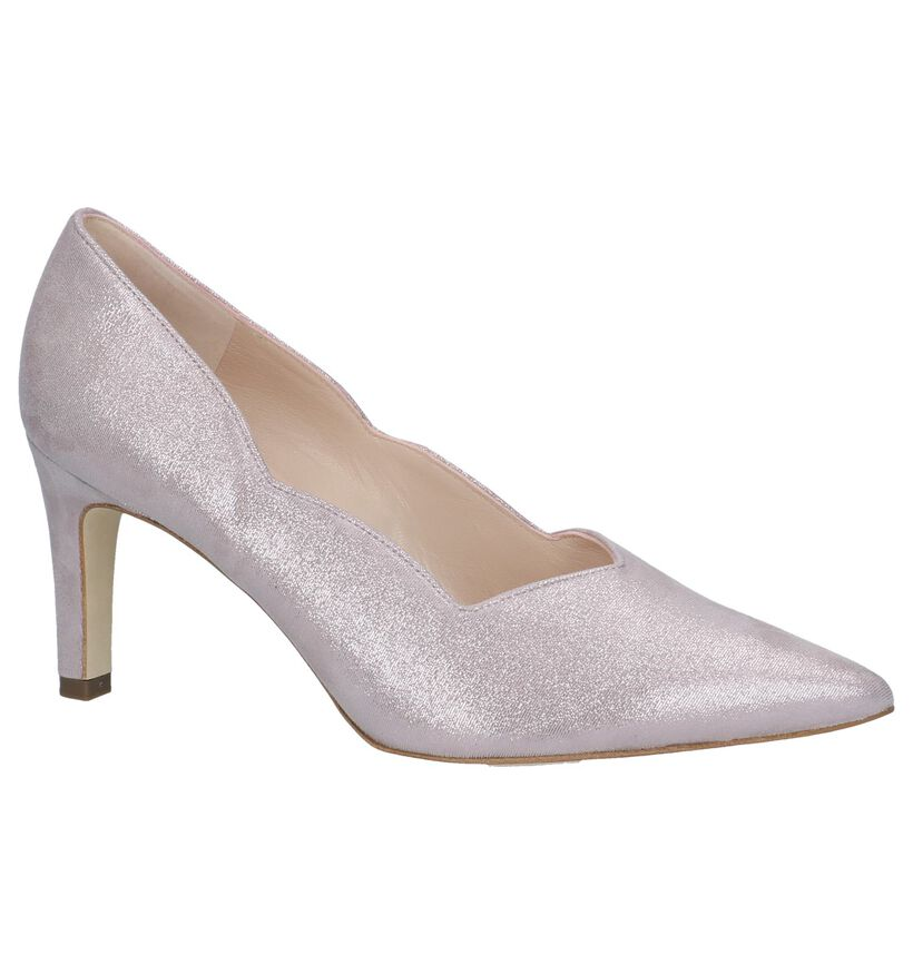 Peter Kaiser Thesia Roze Pumps in stof (247245)