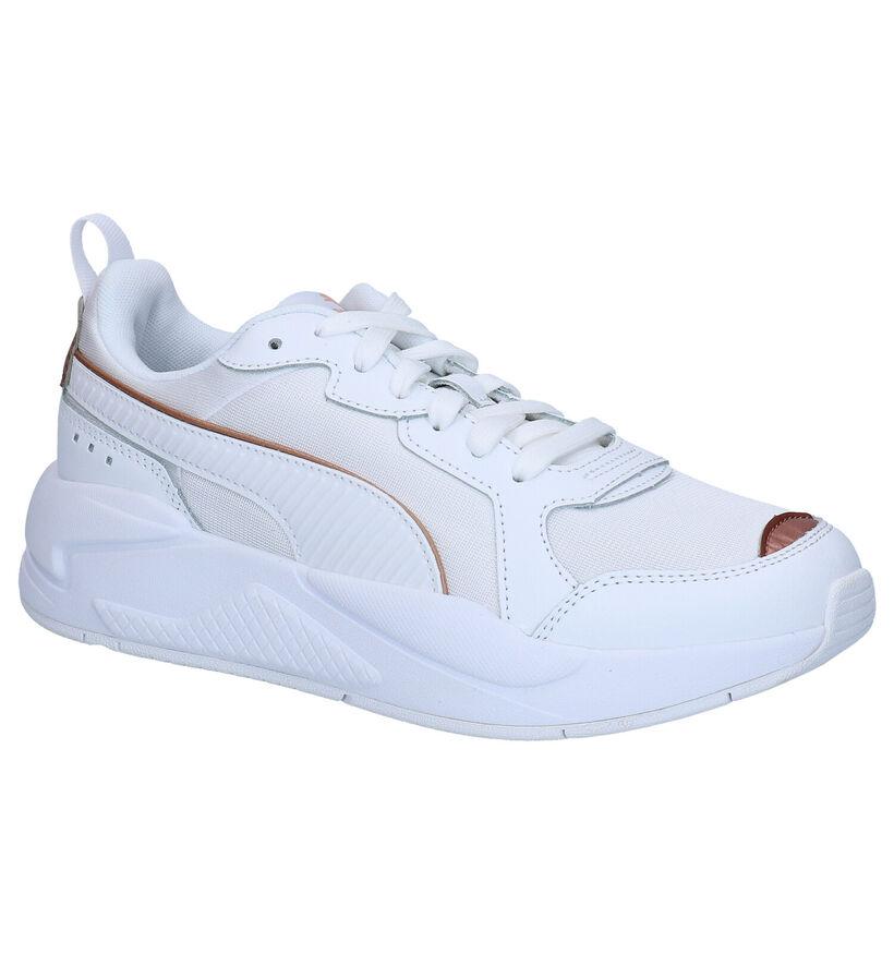 Puma X-Ray Baskets en Blanc en simili cuir (265521)