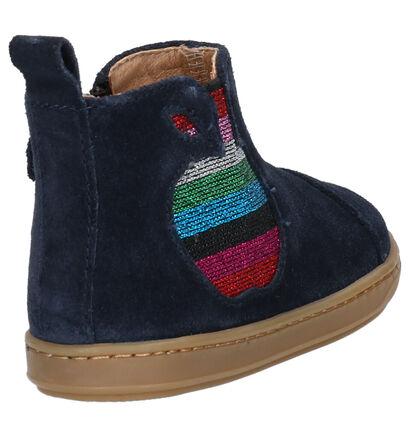 Shoo Pom Bouba Apple Chaussures enfants en Bleu en daim (255208)