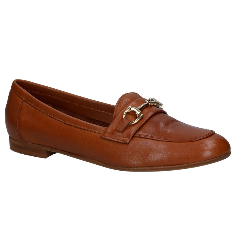 River Woods Loafers en Cognac en cuir (289200)