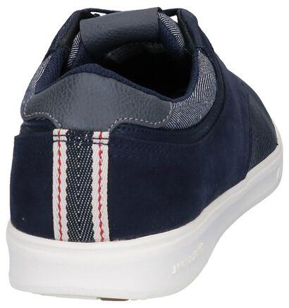 Zwarte Sneakers Jack & Jones Spencer, Blauw, pdp