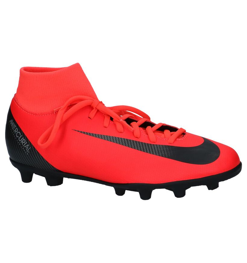 Nike Chaussures de foot en Rouge en simili cuir (235588)